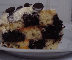 Checker Board Cake