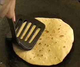 How to make Chapati - An Indian flat bread