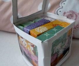 paper puzzle cube