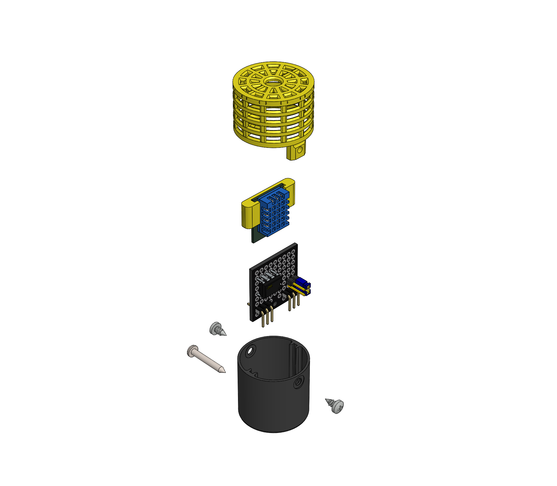 Picture of IOT123 - ASSIMILATE SENSOR: DHT11