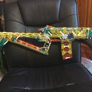 The Wolverine a K'nex Assault Rifle + Video
