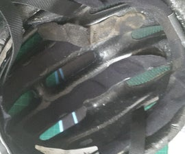 Replace Padding Inside a Bicycle Helmet