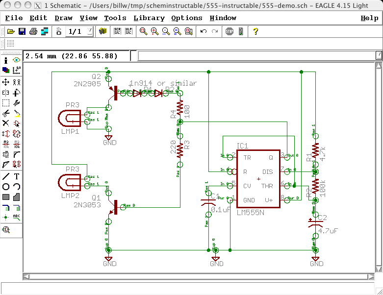 Picture of Draw Electronic Schematics With CadSoft EAGLE