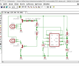 Draw Electronic Schematics with CadSoft EAGLE