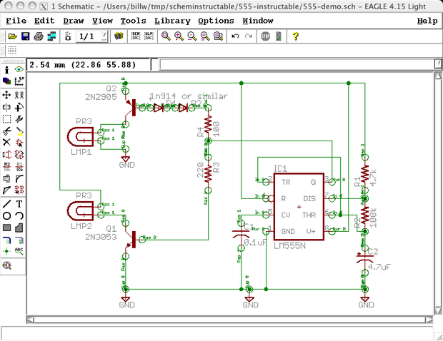[TBQL_4184]  Draw Electronic Schematics With CadSoft EAGLE : 18 Steps - Instructables | Eagle Schematics |  | Instructables