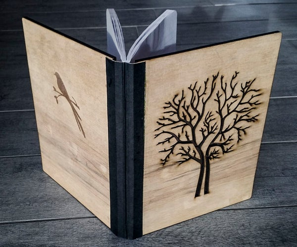Wood Composition Notebooks