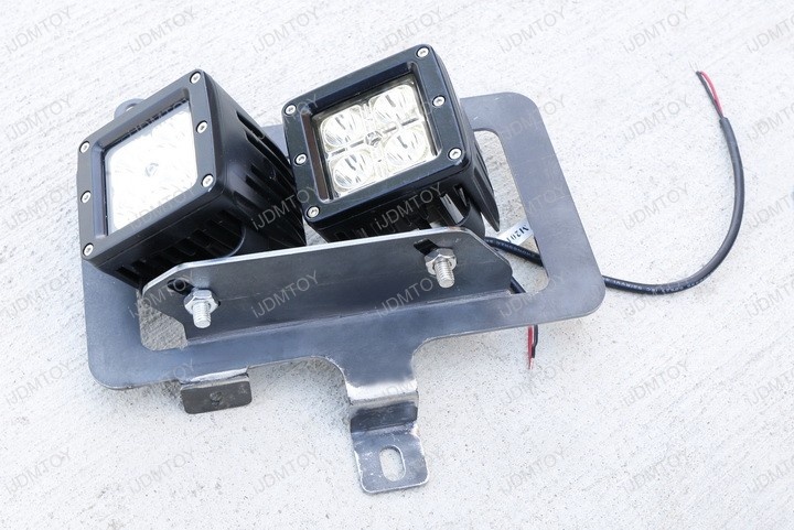 Picture of Put the LED Pod Light Bracket Assembly Together.