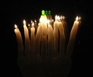 (Almost) Idiot-Proof LED Hanukkah/Chanukah Menorah