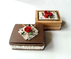 DIY Vintage Inspired Gift Box