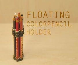 Floating Color Pencil Holder