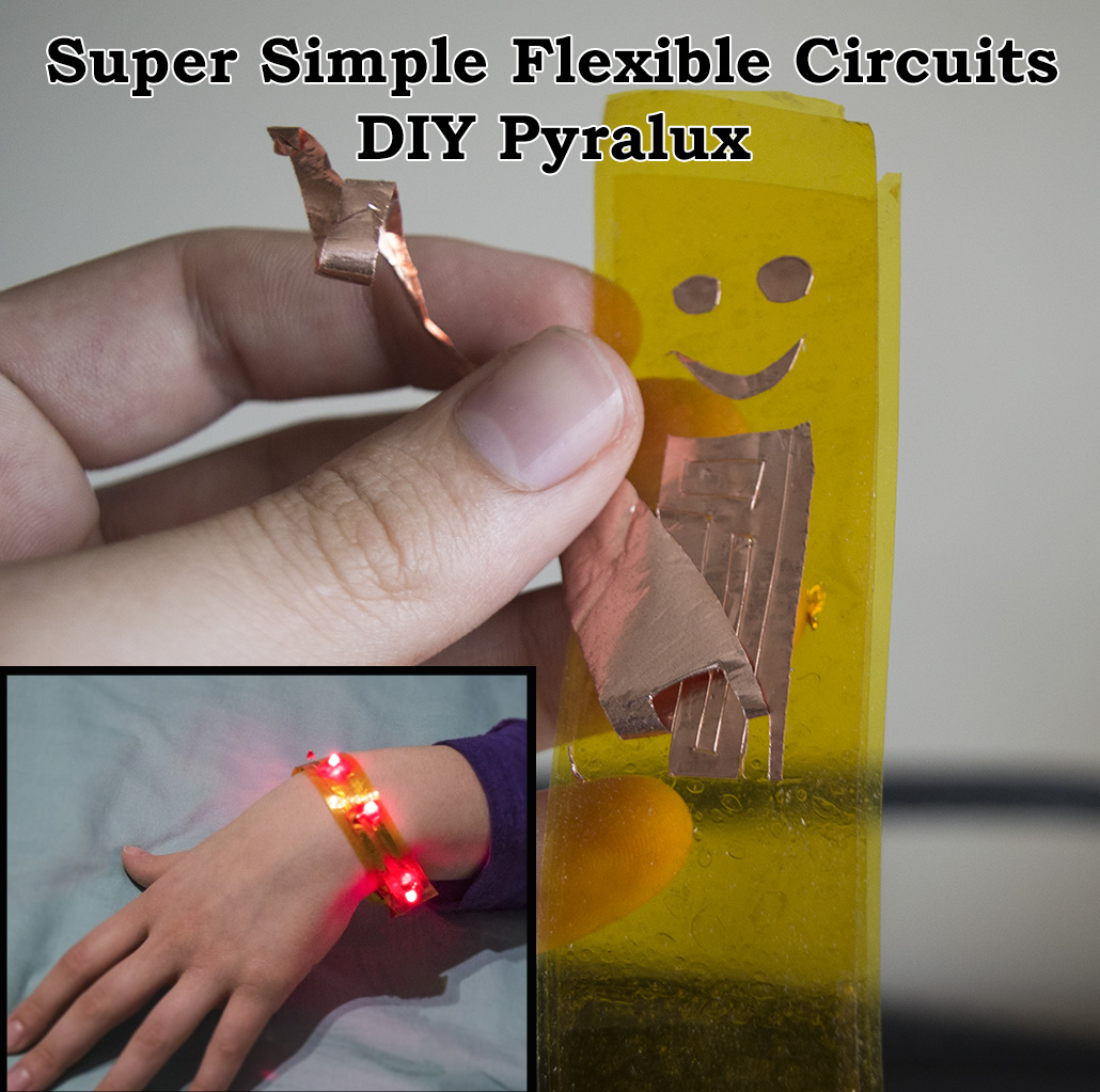 Picture of DIY Pyralux for Flexible Circuits