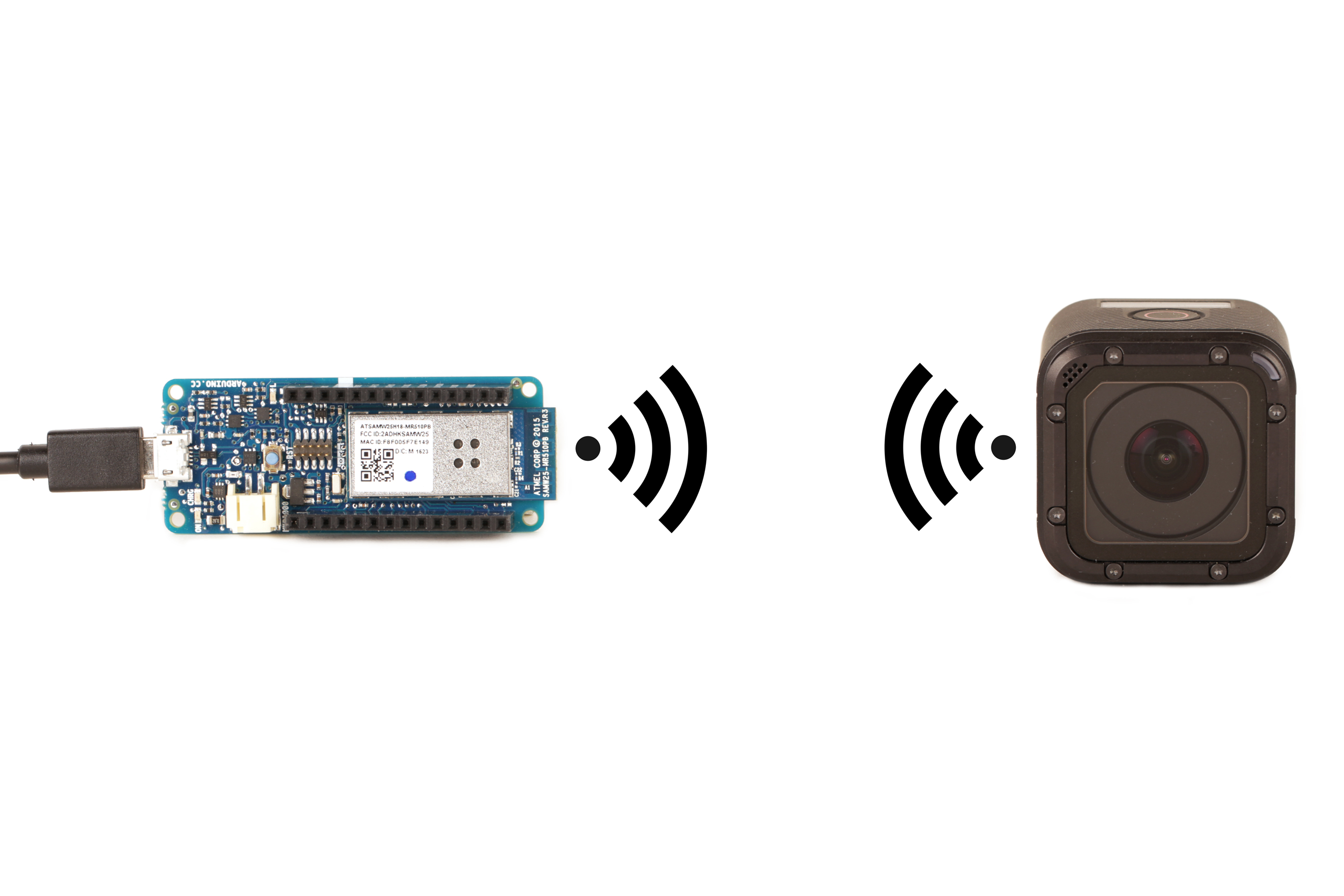 Picture of Connect an Arduino to the GoPro Hero Session