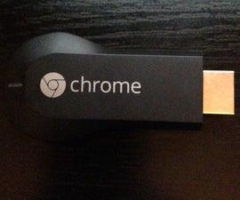 Google Chromecast-MacOS Setup