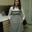 Old Dress to New Apron
