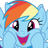 Dashing Rainbow Dash