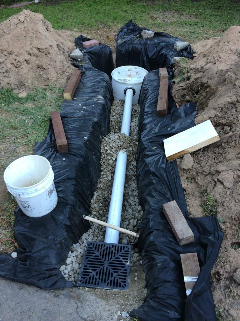 French Drain With Dry Well 7 Steps With Pictures