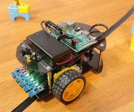 Raspberry Pi Robot Car Lesson 2: Line Follower