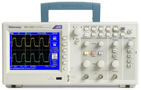 Guide to the Tektronix TBS 1042 Oscilloscope