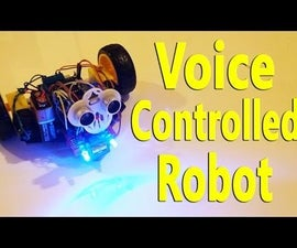 Arduino - Voice Controlled Robot (Bluetooth and Smartphone)