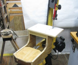 Vertical Bandsaw Table