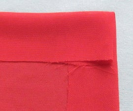 Hemming A Chiffon, Satin, Cotton or Silk Square Scarf