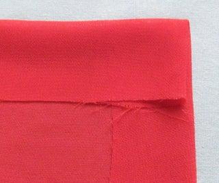 Hemming a Chiffon, Satin, Cotton or Silk Square Scarf