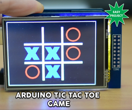 Arduino Touch Tic Tac Toe Game
