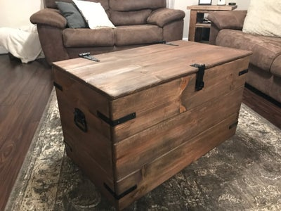 Rustic Wood Chest Toybox