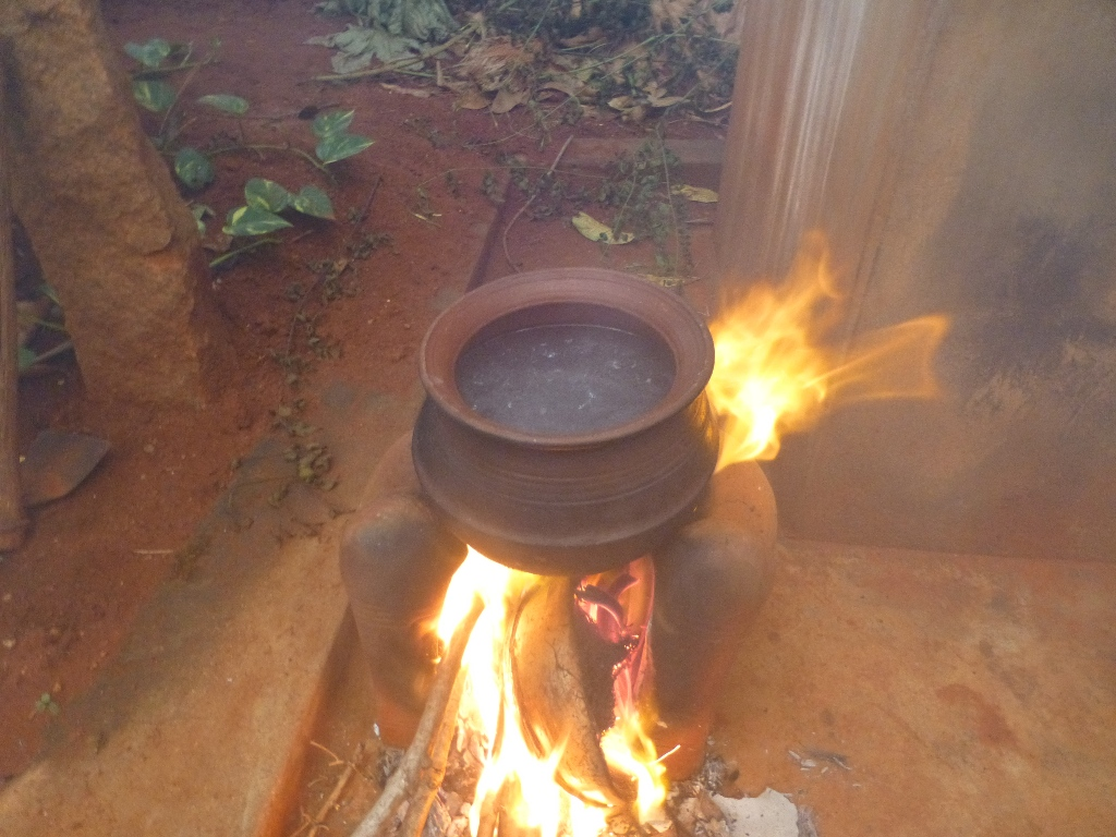 Picture of Cooking Pongal : Step 1