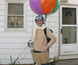 How to make a Hot Air Balloon Costume