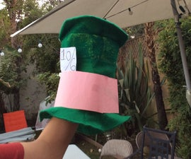 Make a Mad Hatter inspired hat