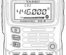 Setting up a VX-6 ham radio for the beginner