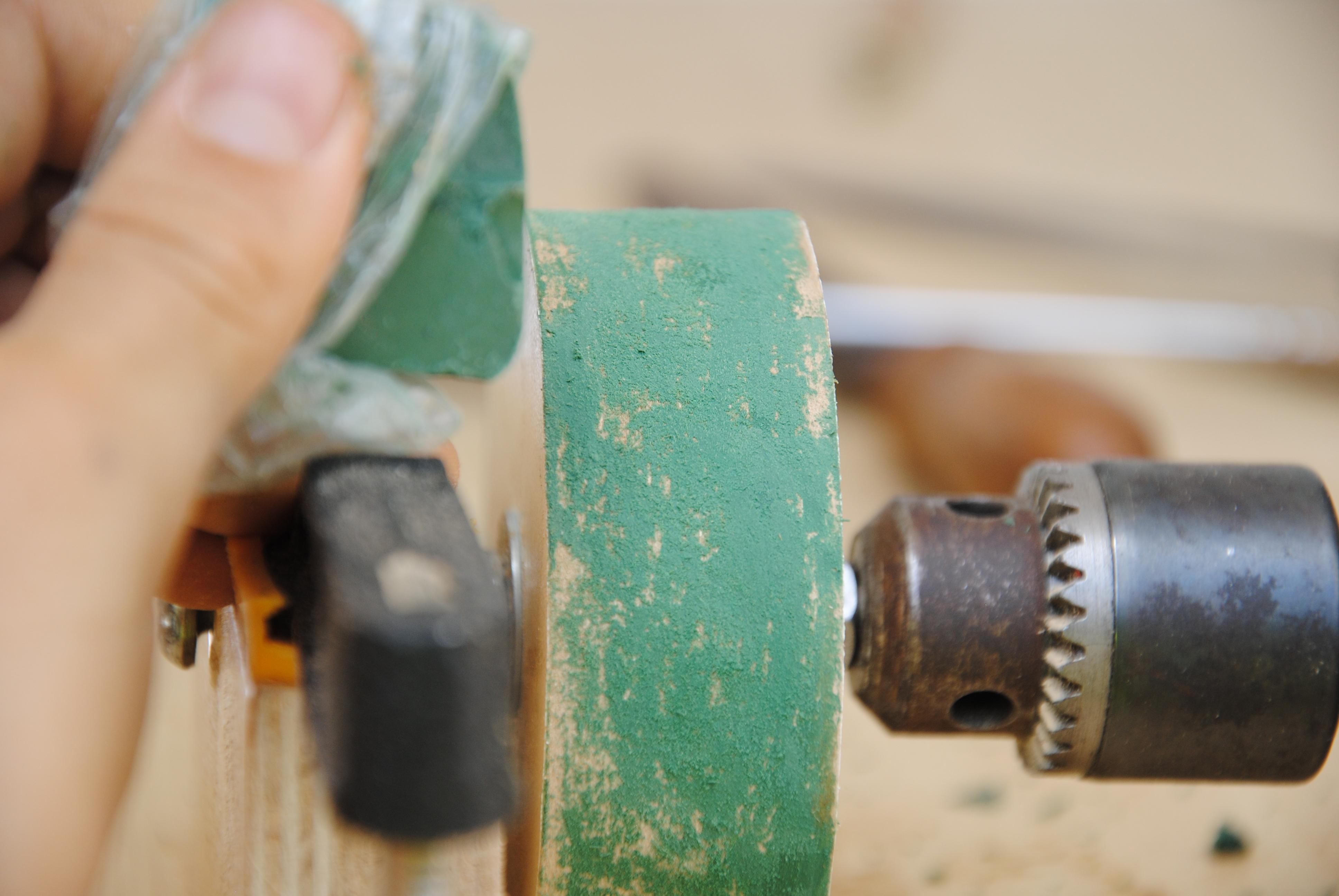 Picture of Add Sharpening Compund
