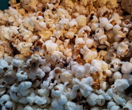 Corn that pops – DIY and healthier way