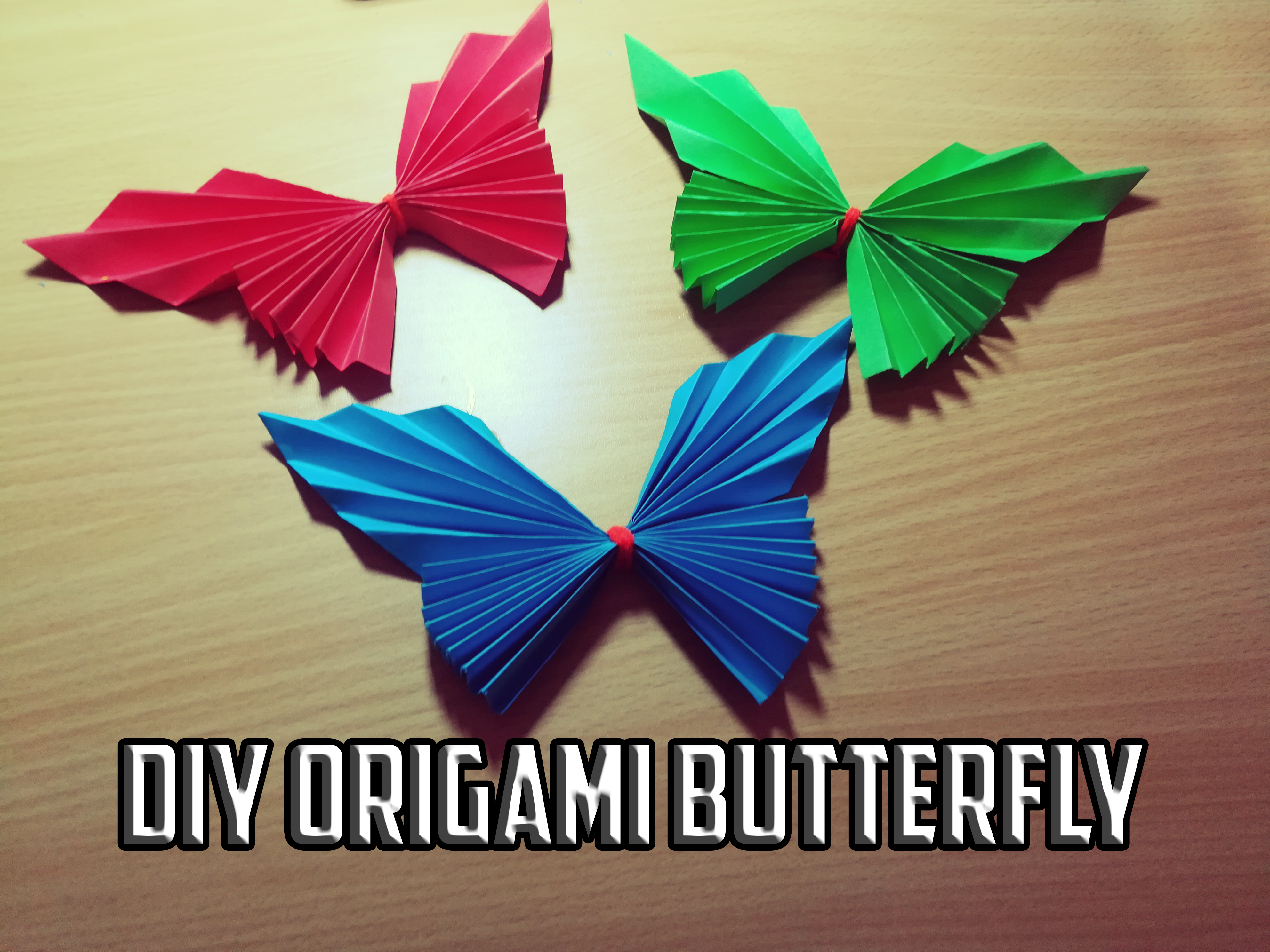 Picture of DIY Origami Butterfly