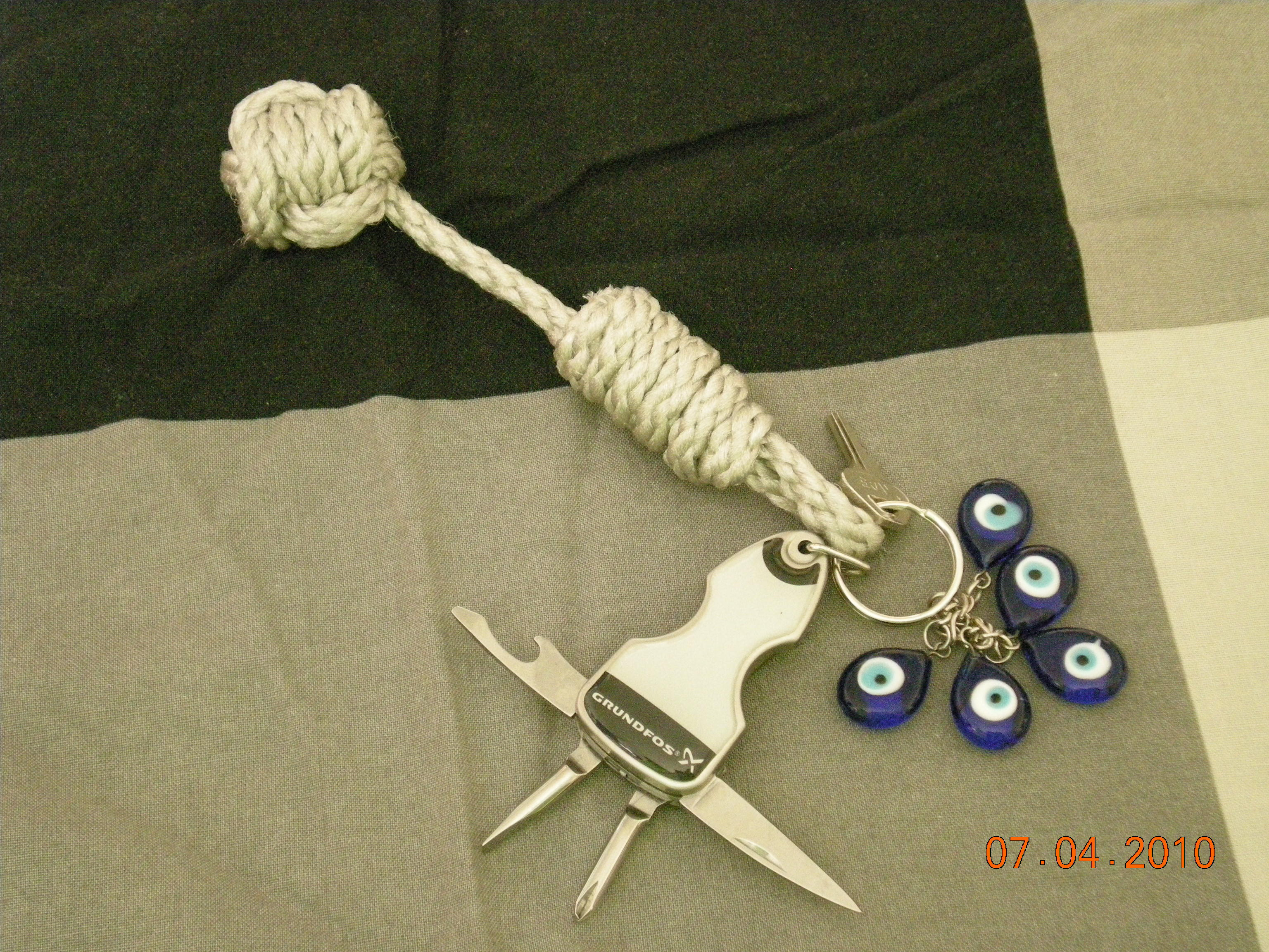 Picture of Monkey's Fist Keychain