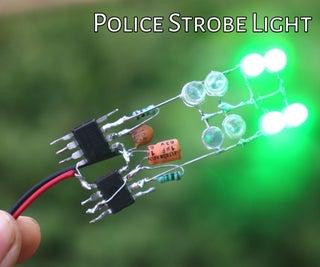 How to Make Police Police Strobe Light