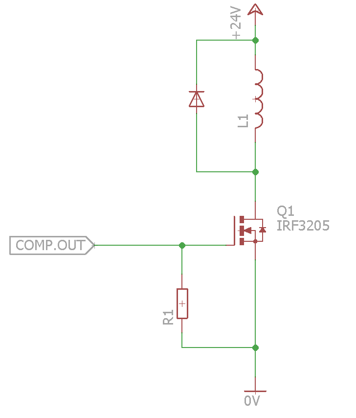 Picture of Driving Coils (MOSFET)