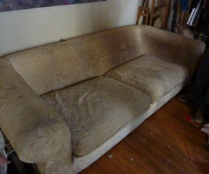 Destructible- How to Disassemble a Couch