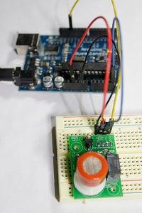 Citizen Sensor: MQ-7 Carbon Monoxide Breakout Kit