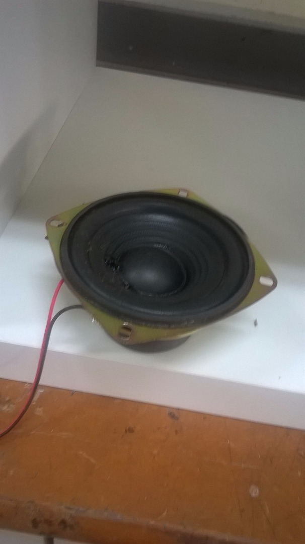 Picture of Mounting the Speakers