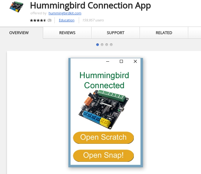 Picture of Download the Hummingbird App