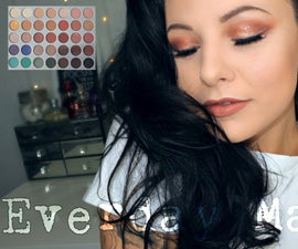 Everyday Makeup Using Jaclyn Hill Morphe Palette