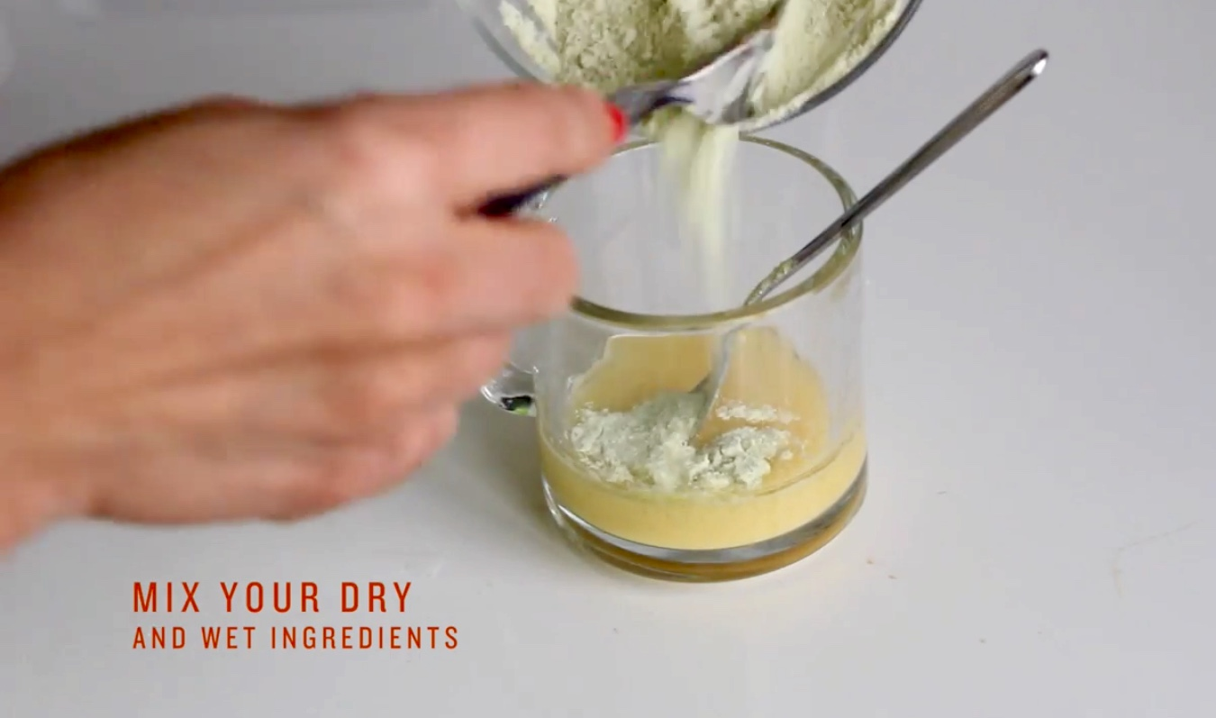 Picture of Combine Your Wet & Dry Ingredients