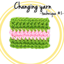 How to change yarn in Crochet (technique #1)