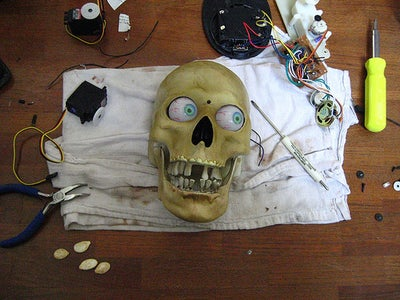 Modifing the Skull Character