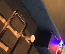 Top-down Mechanical Maze in a Shoe Box, Using Arduino