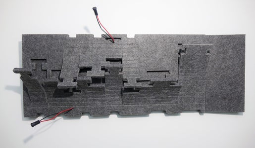 Mainboard: Cutting the Felt Boards in the Right Dimensions