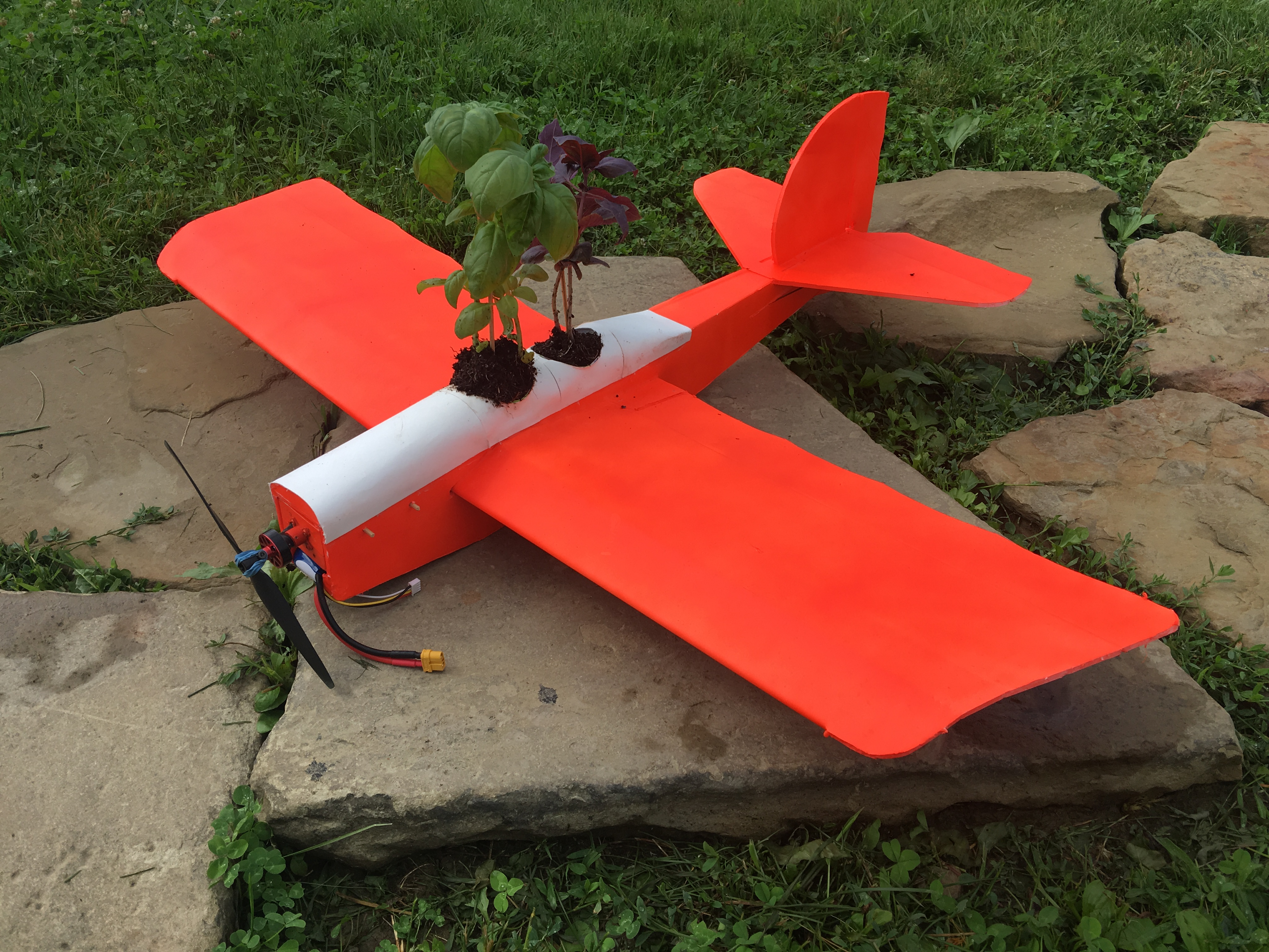 Picture of Rc Plane Planter