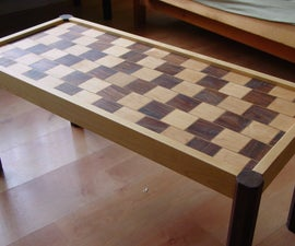How to Build a Cafe-Wall Illusion Coffee Table